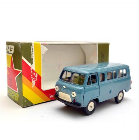 УАЗ 452В а41 серо-синий. Коробка. В идеале