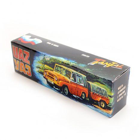Коробка для А34 – УАЗ 469 с прицепом. Тантал