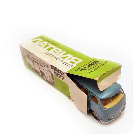 Коробка для РАФ 977 зеленая