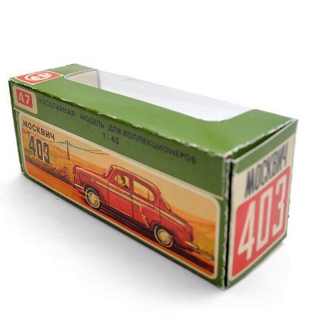 Коробка для а7 москвич 403 рисованная
