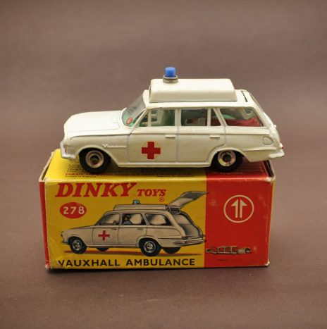 Dinky 278 vauxhall ambulance. Made in England 1965