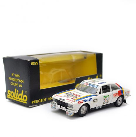 SOLIDO 1055 Peugeot 504 coupe v6 02-80