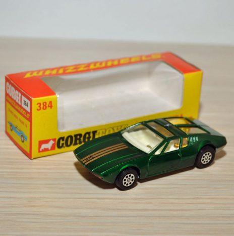 CORGI 384 Mangusta De Tomaso • Англия, 70ые