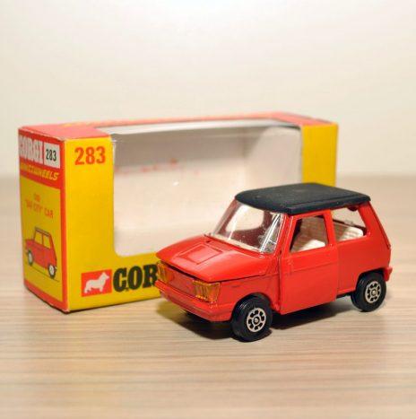 CORGI 283 Osi DAF-CITY Car • Англия, 70ые
