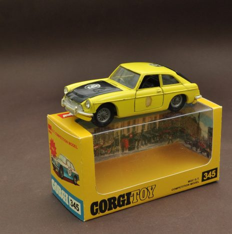 CORGI 345 MGC GT • Англия, 70ые
