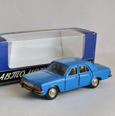 Волга ГАЗ 3102 синяя 7