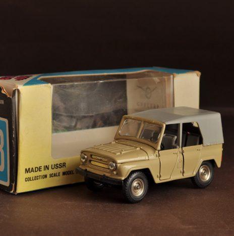 УАЗ 469 а34 песочный (4) коробка 88